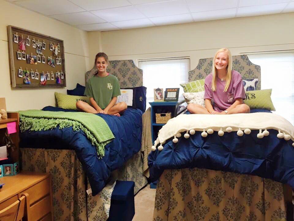 Baylor Dorm Room Collins Hall College Dorm Rooms Dorm Room