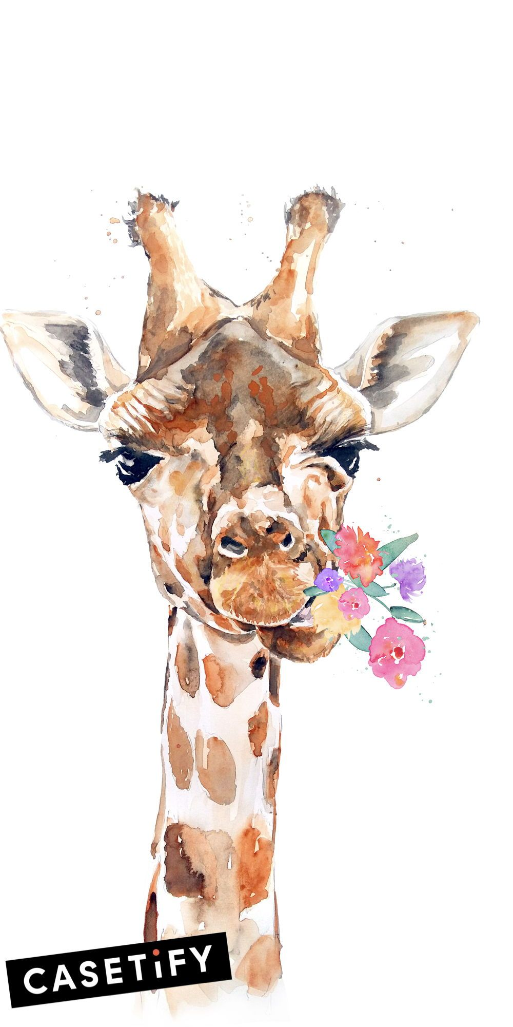 background aesthetic giraffe wallpaper