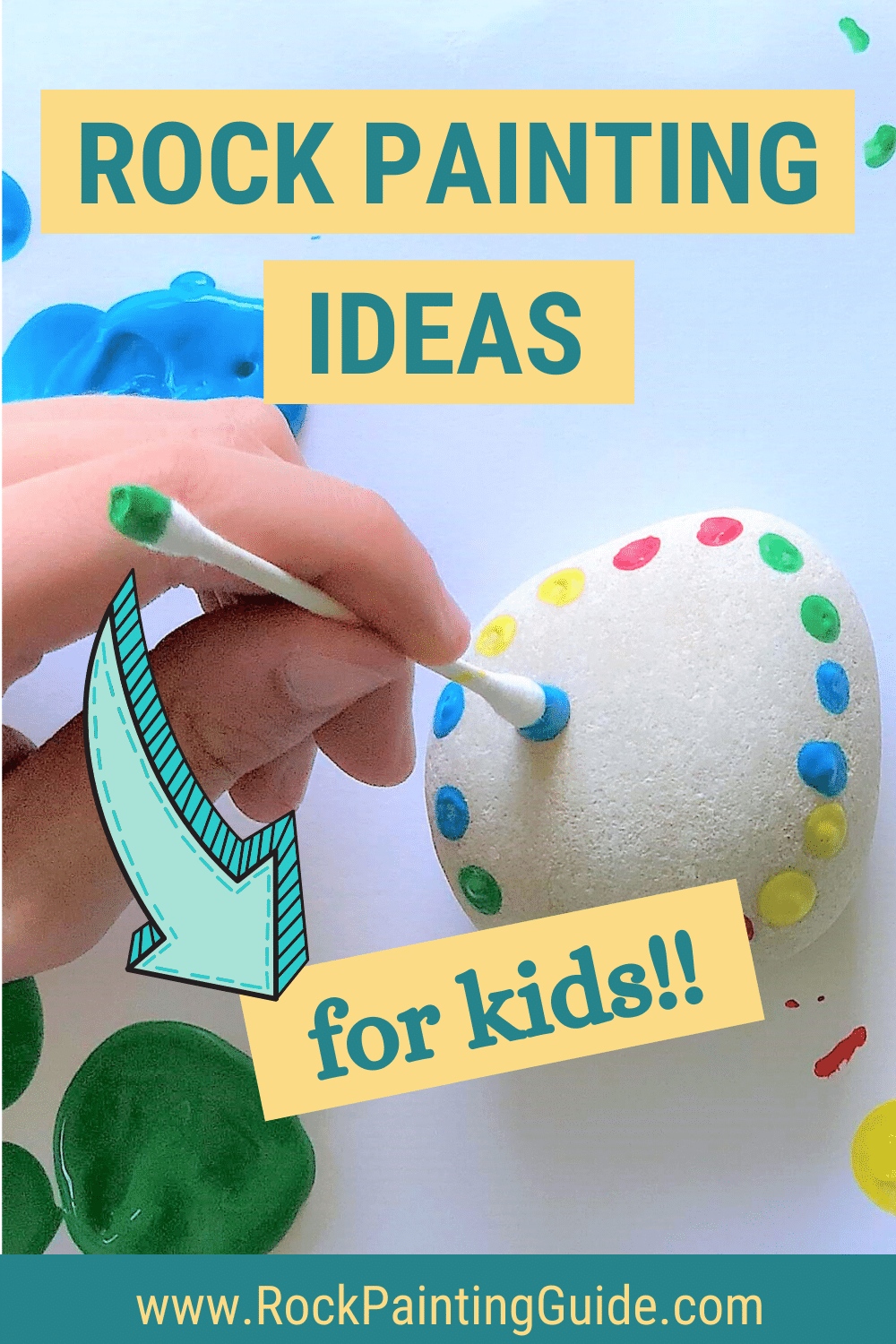 Rock Painting Ideas for Kids!!
