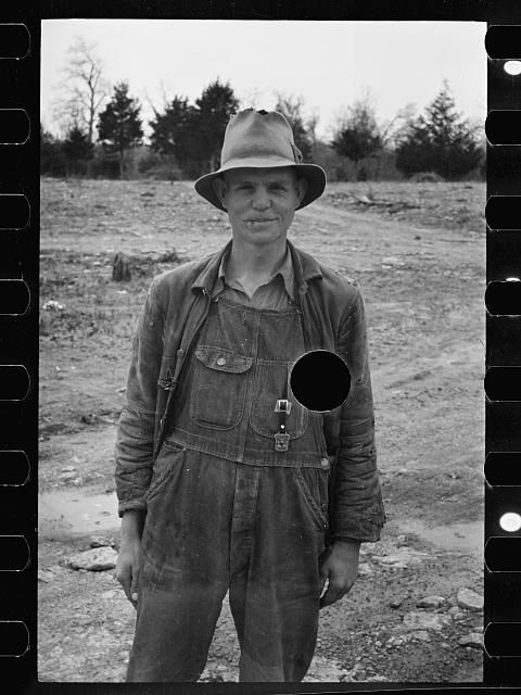2f208475ce6d9 FARMER, TENNESSEE, 1936 Carl Mydans | Vintage Denim Work Clothes for ...