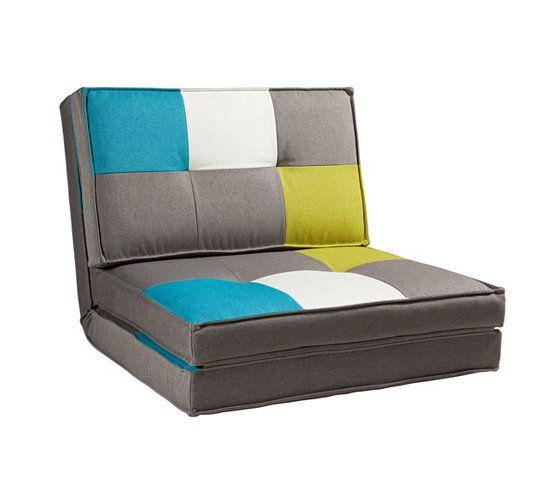 chauffeuse lit lizy patchwork chauffeuse poufs poires. Black Bedroom Furniture Sets. Home Design Ideas