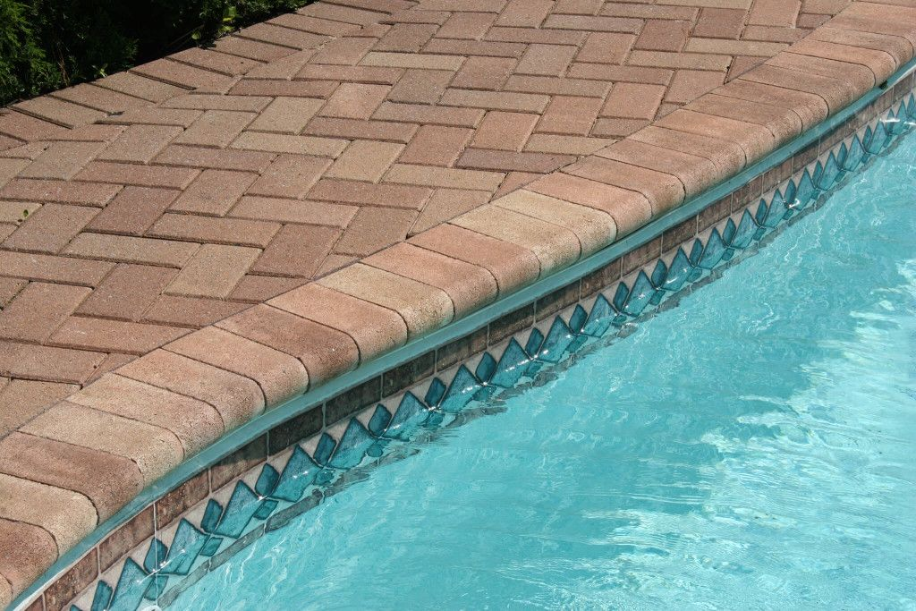 Pooling Coping Paver Design Installation In Bluffton Hilton