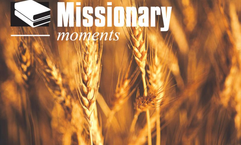 Missionary moment: At the feet of the Savior