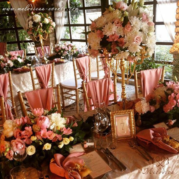Dusty pink and golden wedding decoration by melodica wedding agency dusty pink and golden wedding decoration by melodica wedding agency melodica events junglespirit Gallery