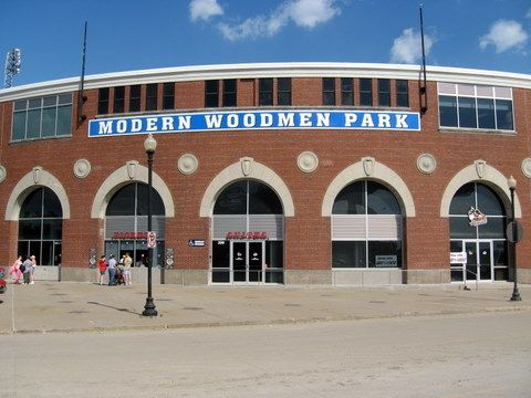 Modern Woodmen Park Quad Cities River Bandits Modern Woodmen