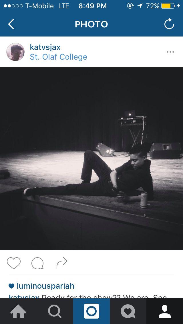 Life before a show. -djseven (@butchcharming)