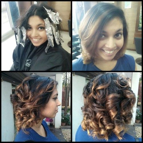 Short And Curly Indian Bob In 2019 Short Hair Styles Hair