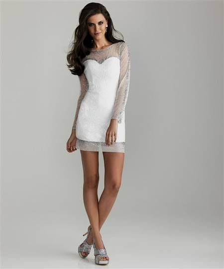 cool white dresses for prom