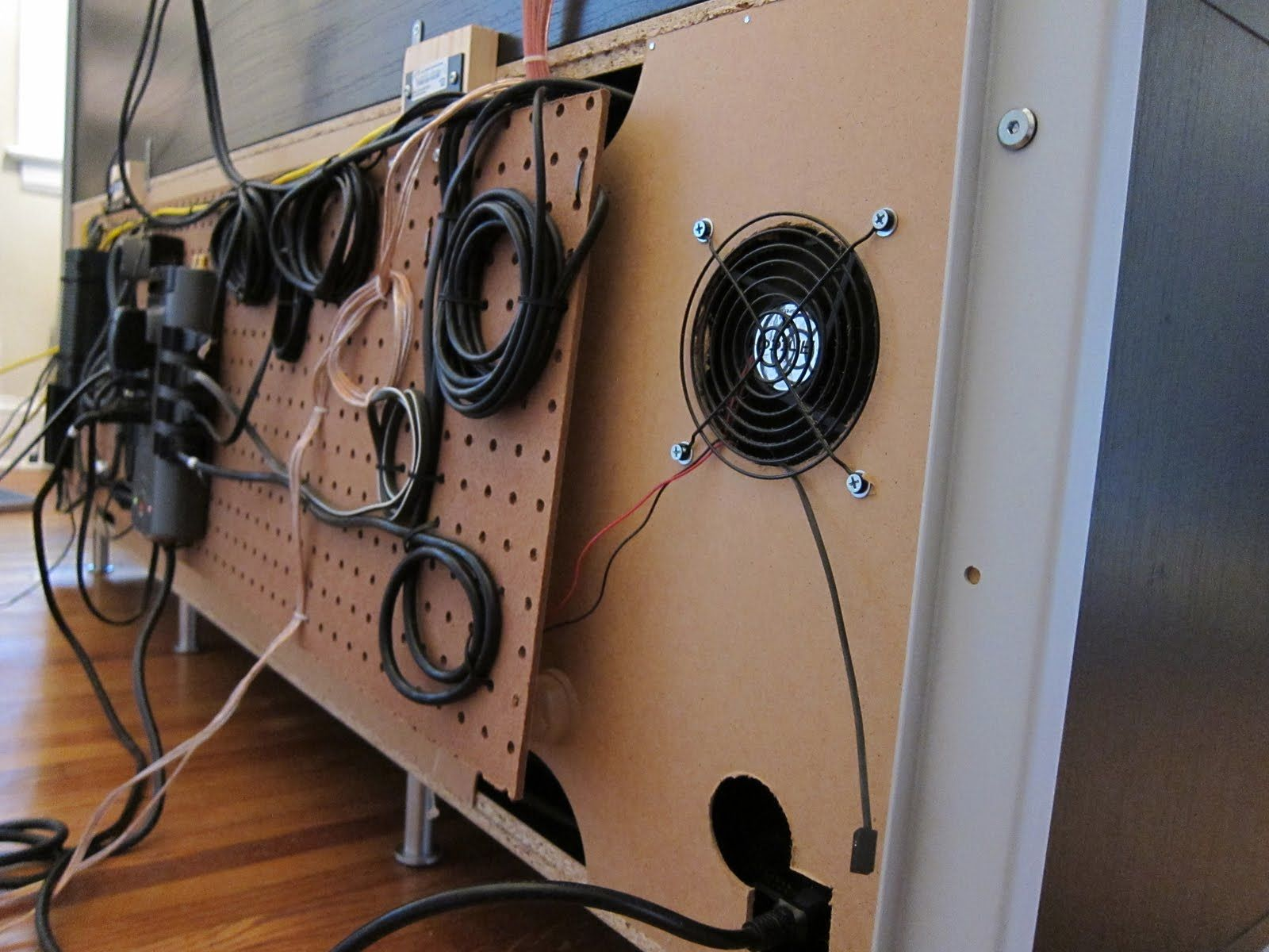 Cable Management Cable Management Cable Management Diy Tv Rack