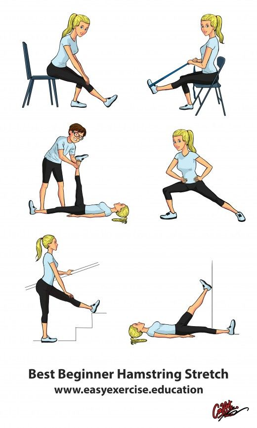 Prevent Back Pain - Best Hamstring Stretches | Hamstring ...