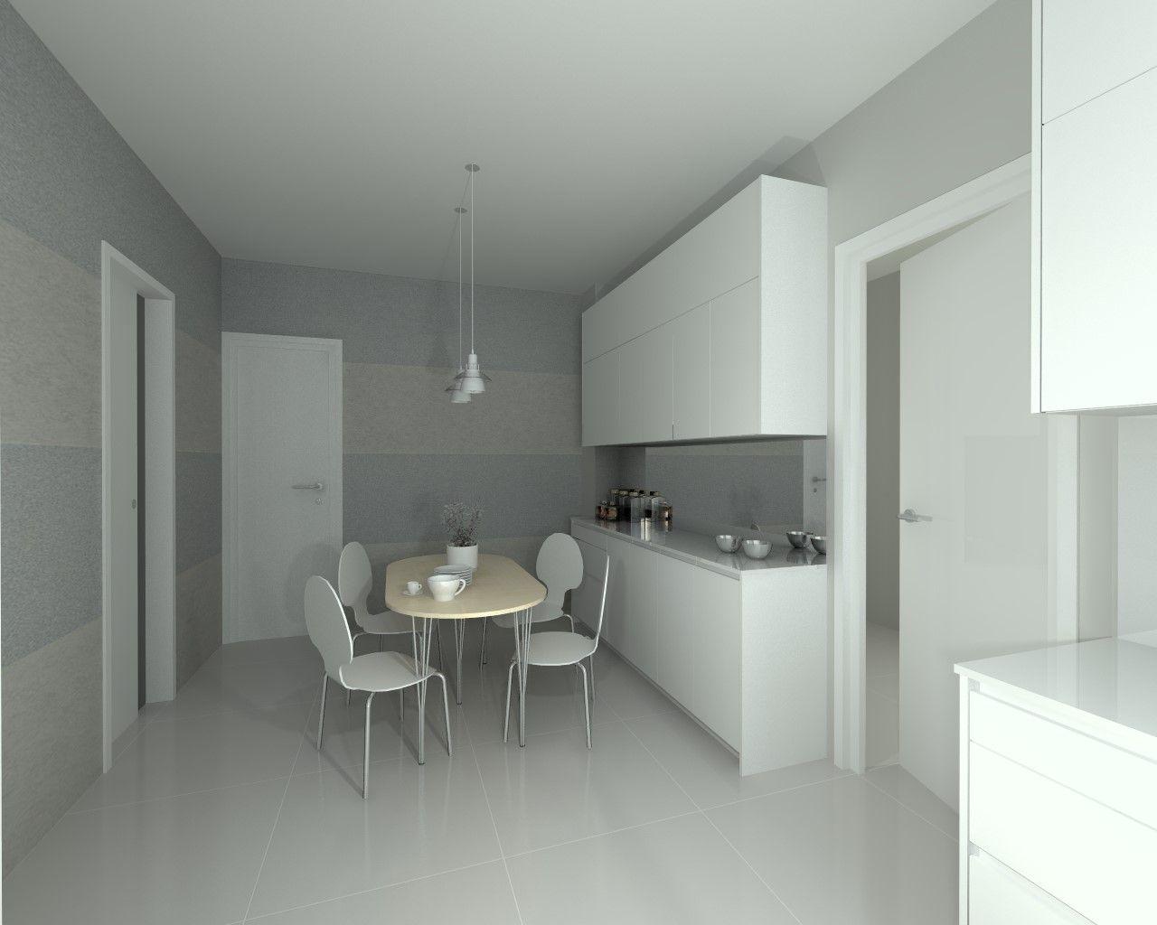 Modelo line e blanco encimera granito cocina - Encimera granito blanco ...