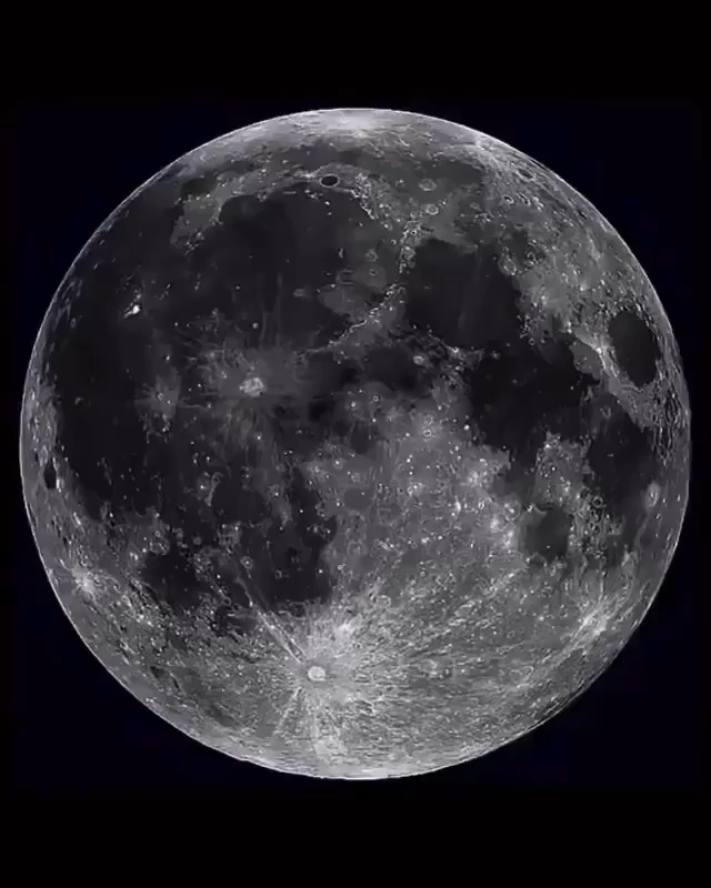 Our spinning satellite - the Moon