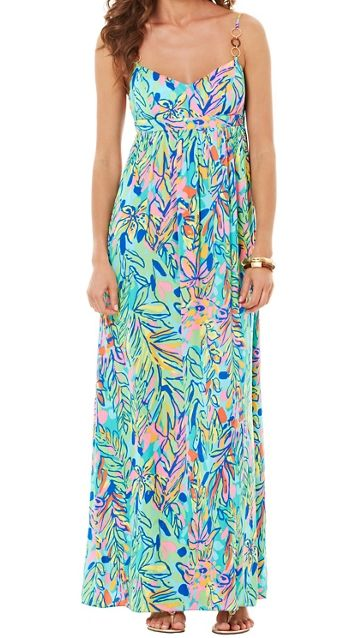 d6bf2c9817 Lilly Pulitzer Joanna Empire Waist Maxi Dress in Hot Spot. OMG HOW I LOVE  THIS LILLY MAXI. I LOVE THIS DRESS!!!!!!!!I NEED THIS DRESS!