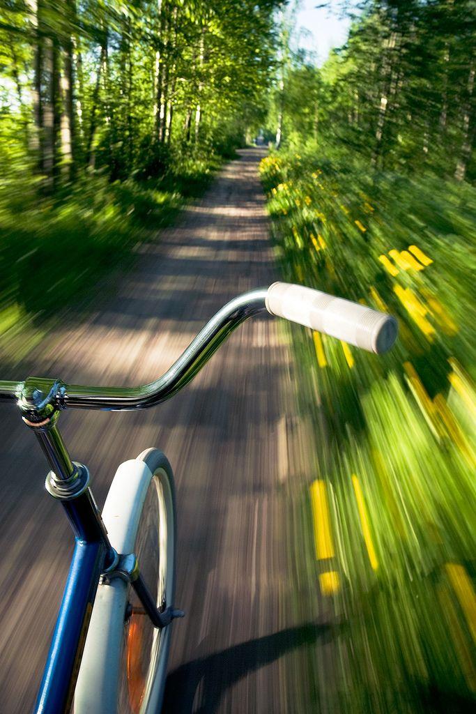 V I I R U I S A Motion Photography Bicycle Shutter Speed