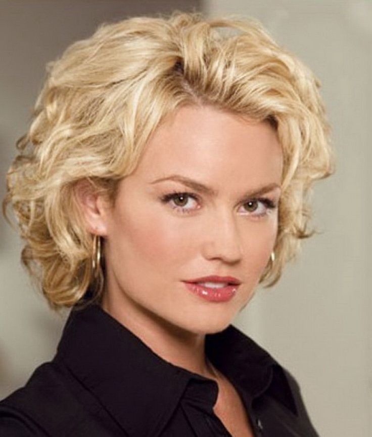 Short Curly Haircuts For Oblong Faces Short Curly Hairstyles For