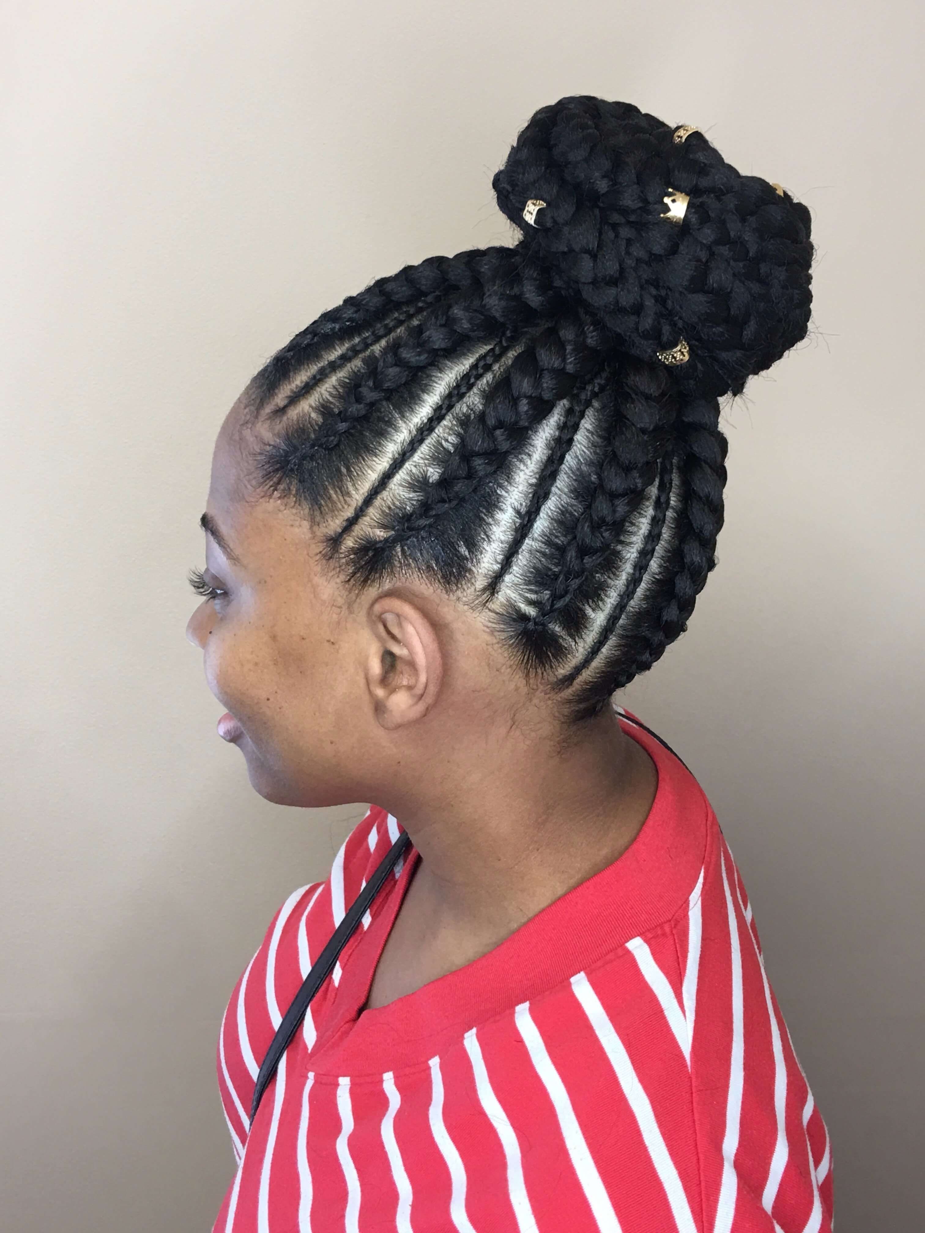 50 natural goddess braids to bless ethnic hair in 2019