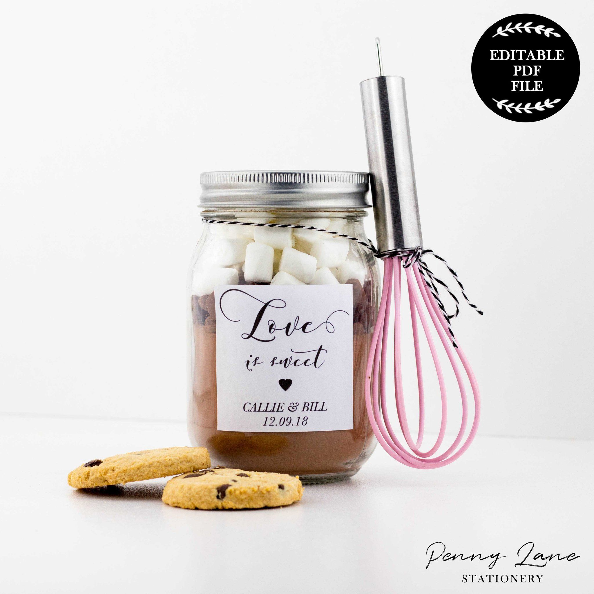 Love Is Sweet Wedding Favor Tags Wedding Decor Pinterest Sweet