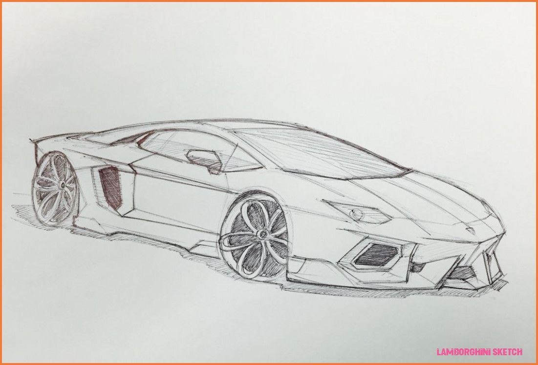 9 Taboos About Lamborghini Sketch You Should Never Share On Twitter Lamborghini Sketch Https Carsneat Com 9 Taboo Car Drawings Cool Car Drawings Car Sketch