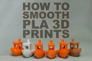 How to Smooth PLA 3D Prints : 12 Steps - Instructables
