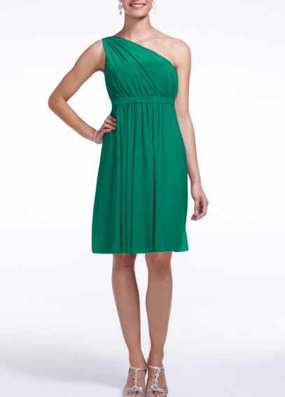 Emerald green bridesmaid dress - David\'s Bridal http://www ...