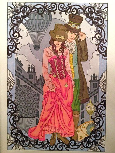 By Jessica On Jun 02 2013 Creative Haven Steampunk Designs Coloring Book