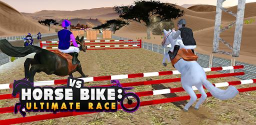 Horse Bike Race Ultimate Stunts Jokey Obstacles Jungle