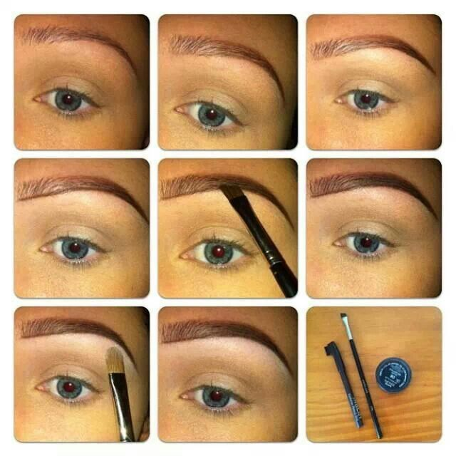 Step by step how to do your eyebrows 💠 | Eyebrows, Brows ...