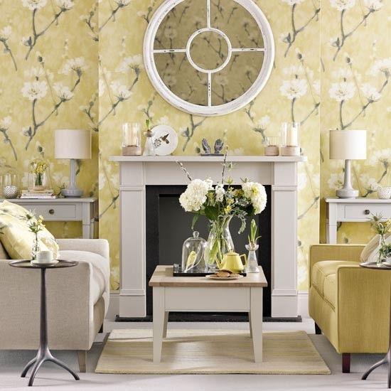Beau Soft Yellow Living Room | Interior Design Ideas | PHOTO GALLERY | Ideal Home  | Housetohome