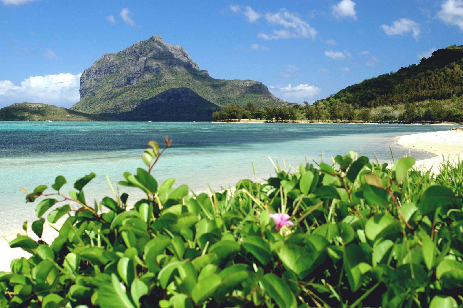 Visto così il mare delle Mauritius non sembra niente male!