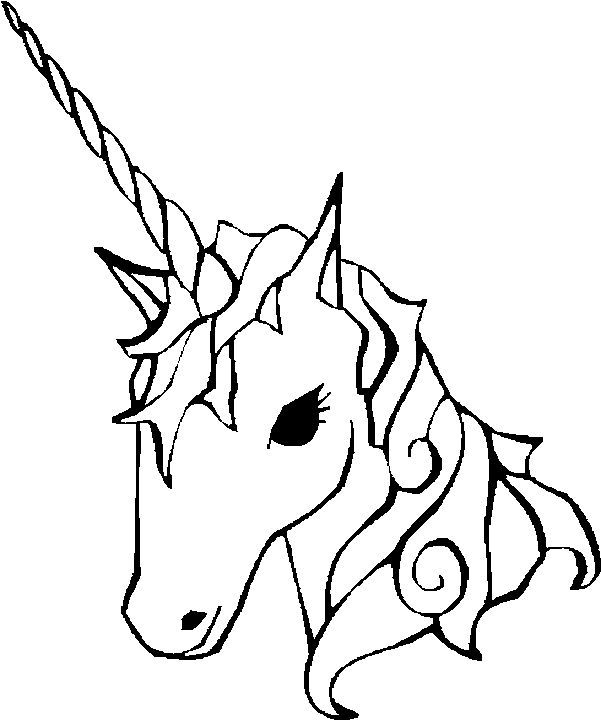 Easy Coloring Pages Of Unicorns To Print Unicorn Coloring Pages Coloring Pages For