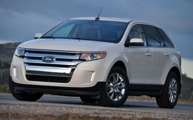 2012 Ford Edge Owners Manual
