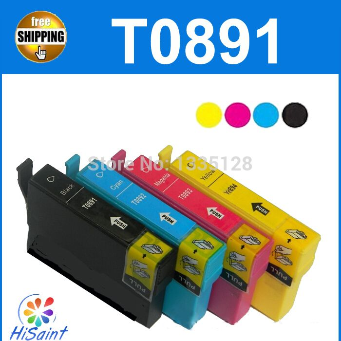 $18.53 (Buy here: http://appdeal.ru/73ky ) for epson T0891 T0892 T0893 T0894 T0711 T0712 T0713 T0714 inket cartridge for D92/DX4000/DX4050/DX4400/DX4400/DX5000/DX5050/DX60 for just $18.53