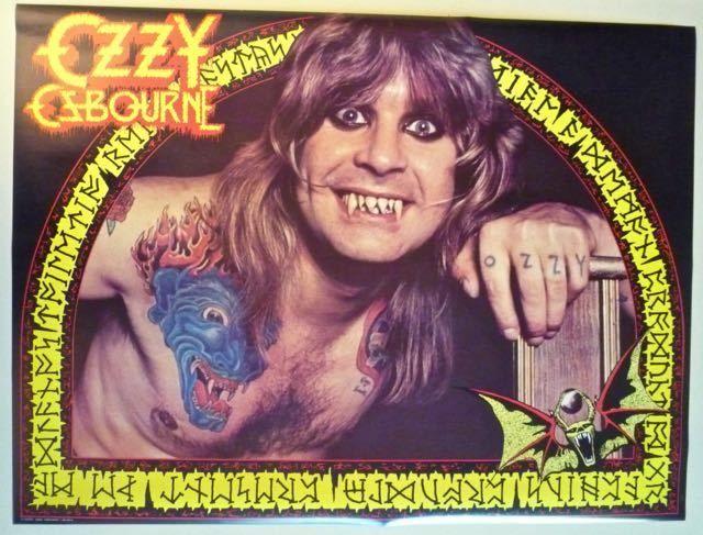 OZZY OSBOURNE  Vintage Original Promo Poster  Speak of the Devil  1982  Rare https://t.co/w8u2LW5yPc https://t.co/OGM5uSddNZ