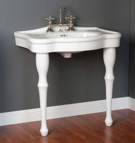 Delightful Sink With Two Legs | Unique Two Legged Pedestal Lavatory Sinks From  Plumbing Supply Dot Com