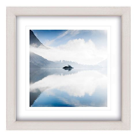 Buy Mike Shepherd - Morning On Ullswater Framed Print, 65 x 65cm Online at johnlewis.com #SleepSanctuary