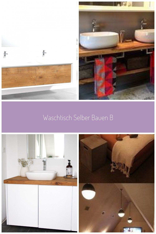 Waschtisch Selber Bauen Bauplatten Badezimmer Unterschrank Selber Bauen Waschtisch Selber Bauen Bauplatten In 2020
