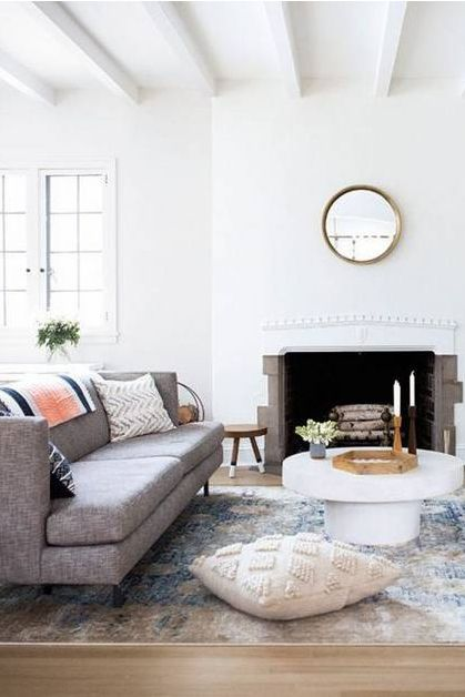 At Home With Kate Arends Of Wit And Delight Cheap Living Rooms