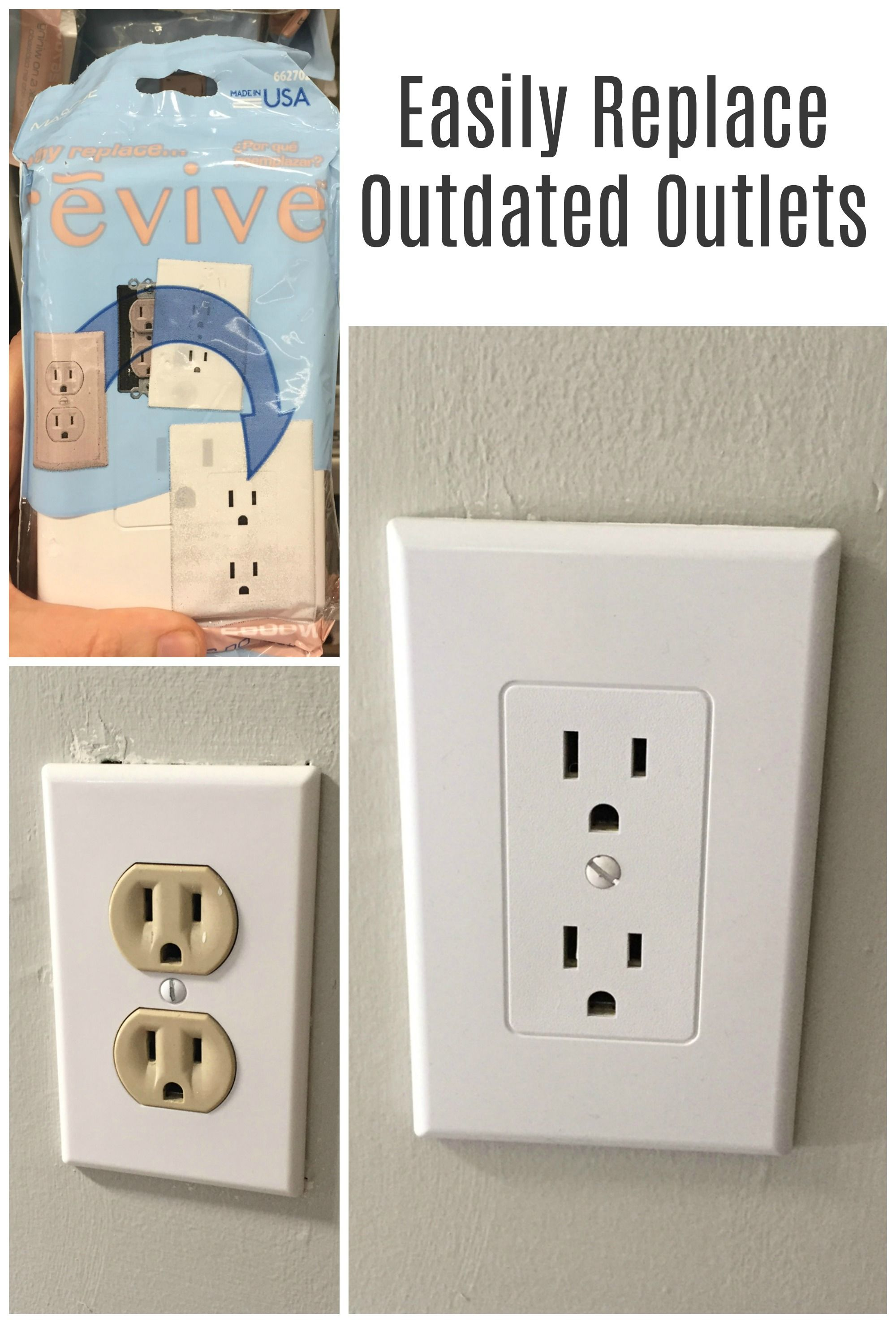 I had no idea it was this easy to replace the old beige outlets ...