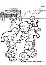 Resultado De Imagen De Dibujo Nino Deporte Colorear Nino Jugando