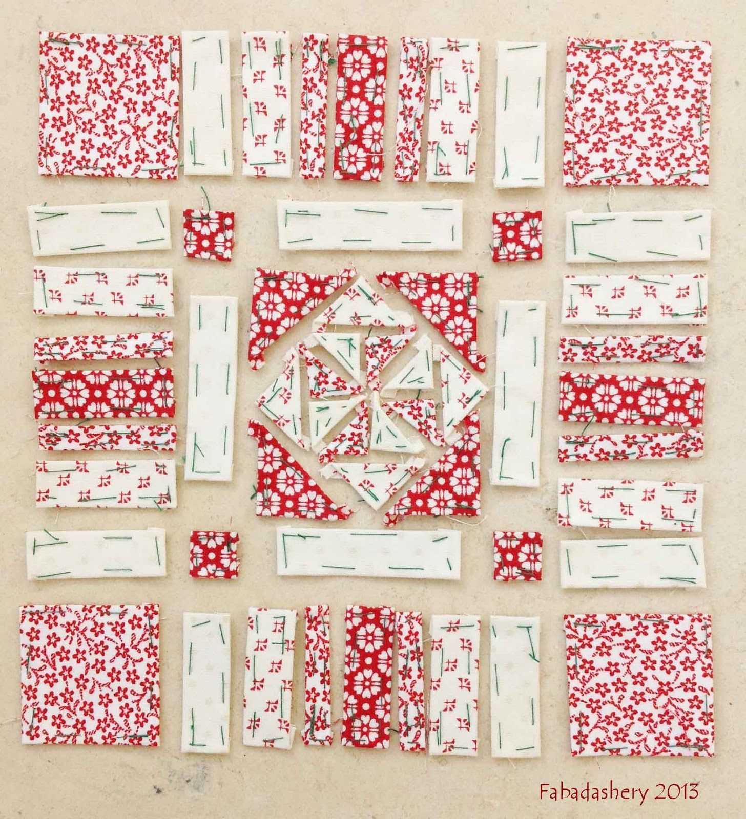 Block 72, English Paper Piecing Nearly Insane Quilt Love this ...