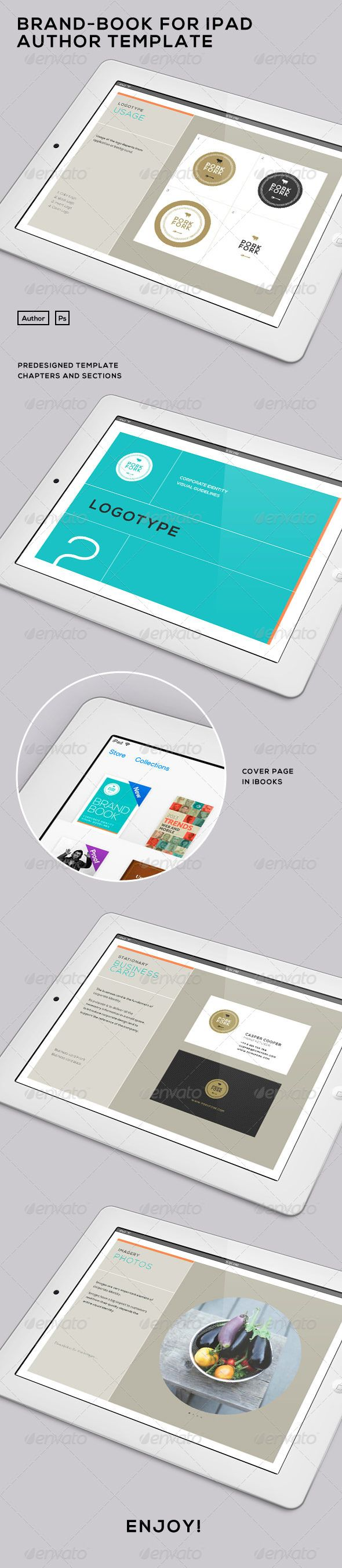 Brand Book for iPad - iBooks Author Template
