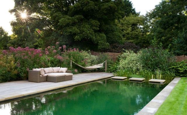 HÄNGEMATTE!!!!! Super Lösung Für Den FatBoy! Garten Gestalten Planen  Rasenfläche Sitzmöglichkeiten Pool