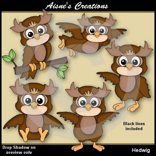 Aisne's Creations: About Me & A Freebie | Owl clip art ...