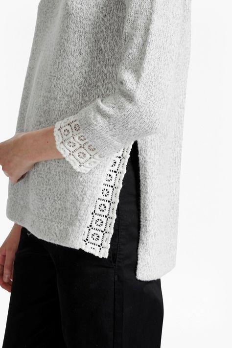 Lola Lace Knit Jumper