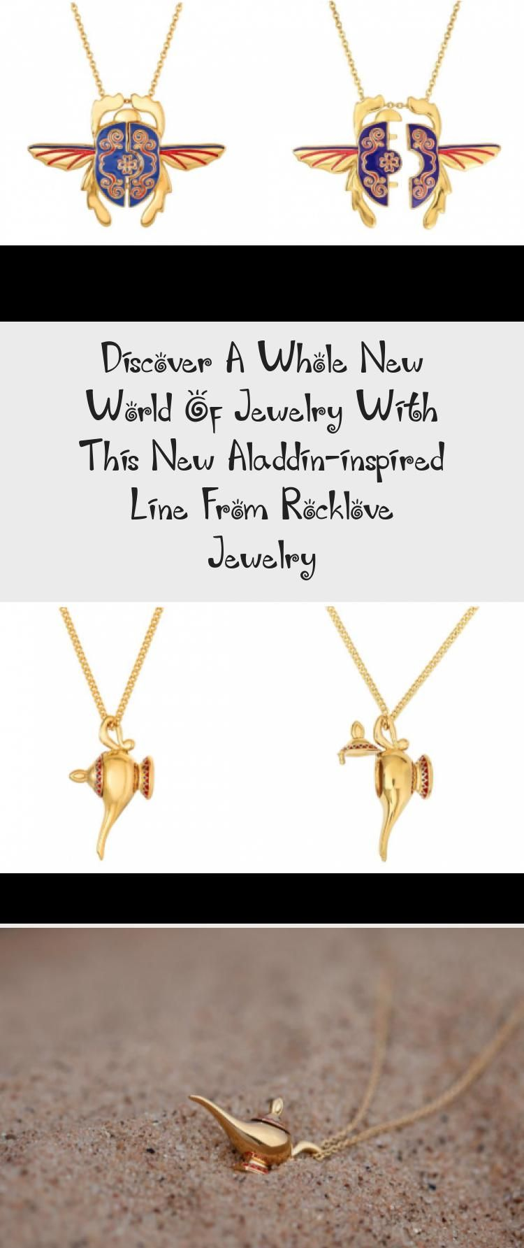 Photo of Discover A Whole New World Of Jewelry With This New Aladdin-inspired Line From Rocklove Jewelry – Jewelrys