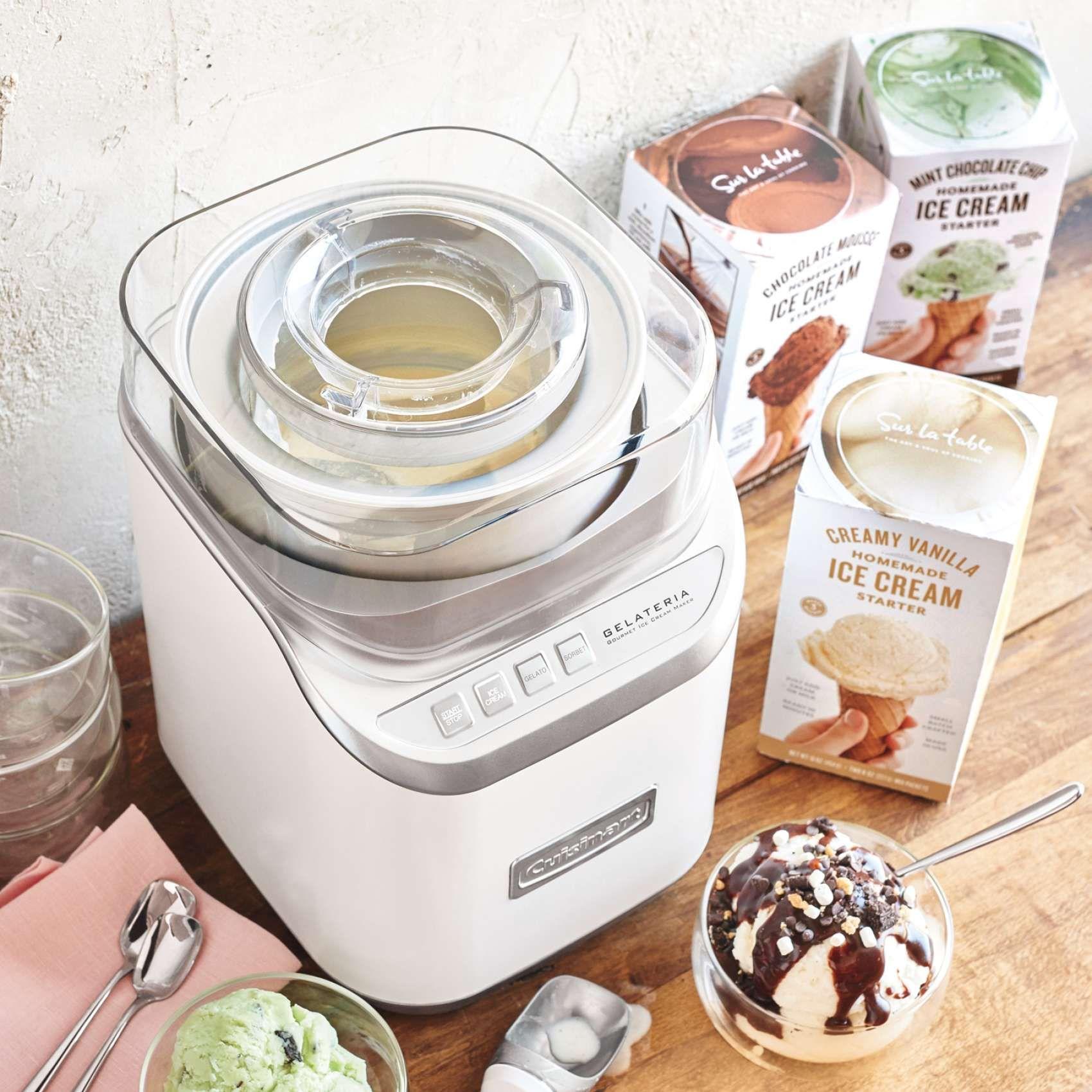 Cuisinart Gelateria Ice Cream Maker Ice Cream Maker Homemade Ice Ice Cream