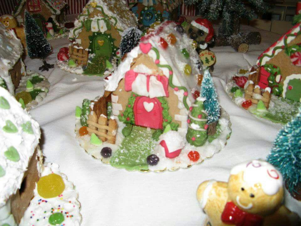 Christmas sugar house