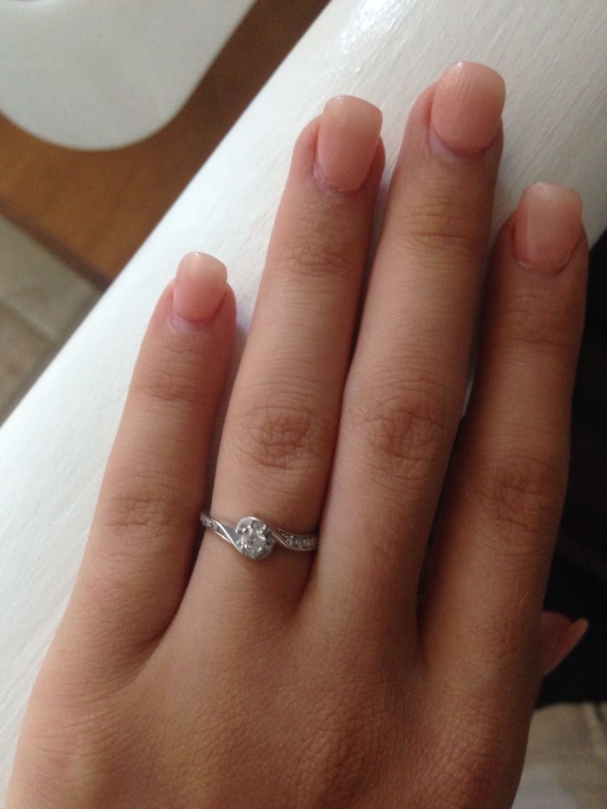 My beautiful promise ring💕
