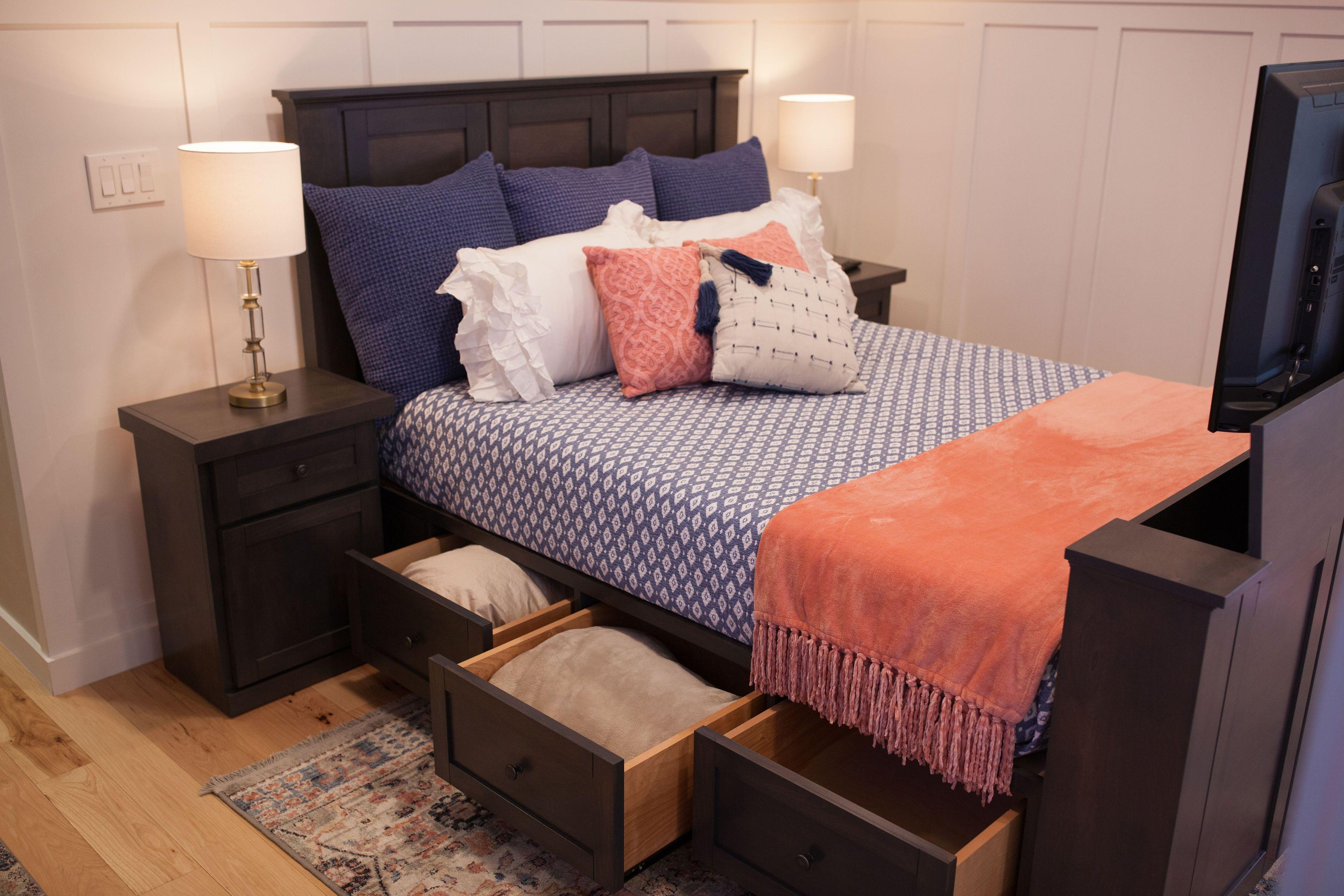 The Hartford TV Bed Wildwood TV Lift Furniture Modern