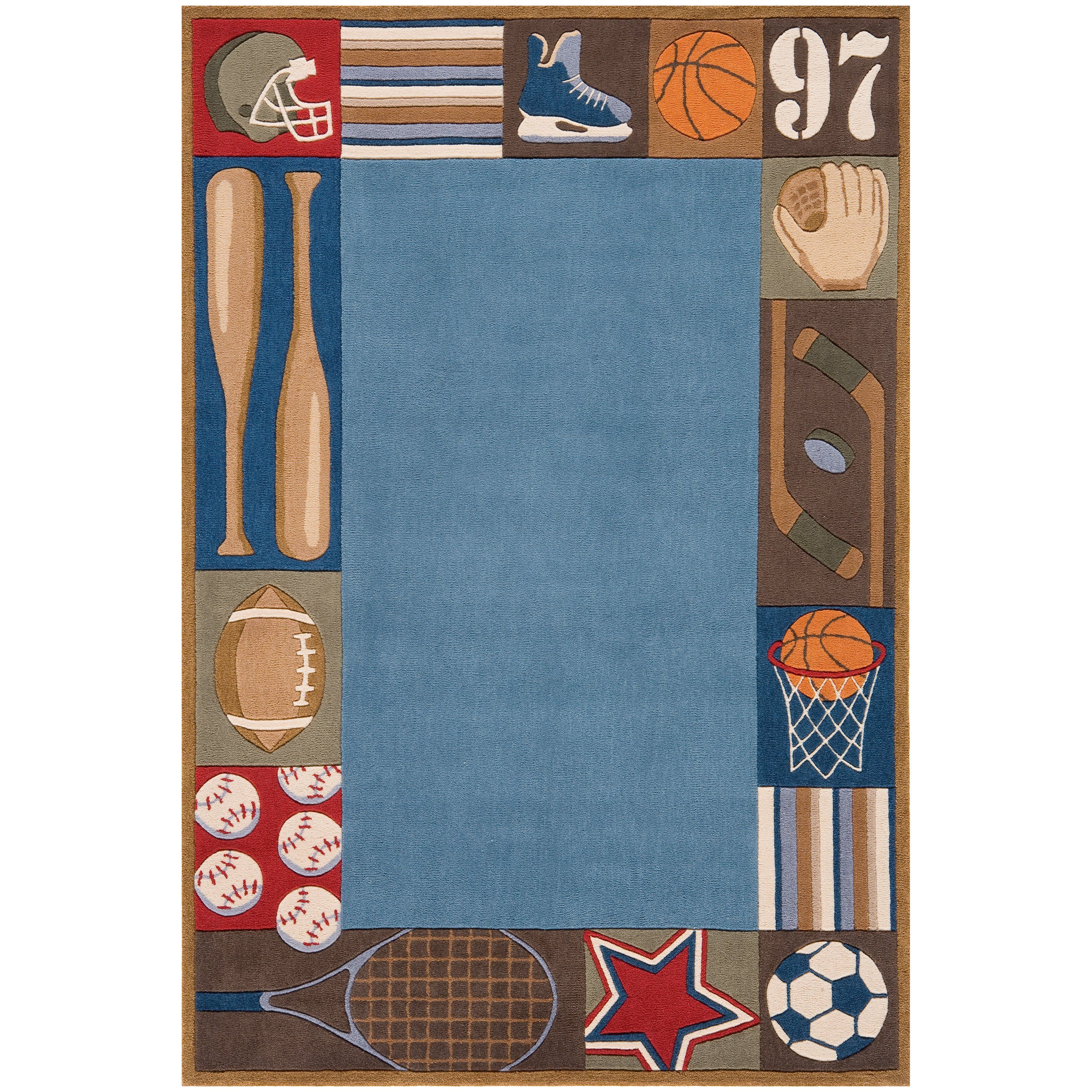 Lil Momeni Whimsy Sports Collection Kids Area Rug Lmojulmj 4dnm4060